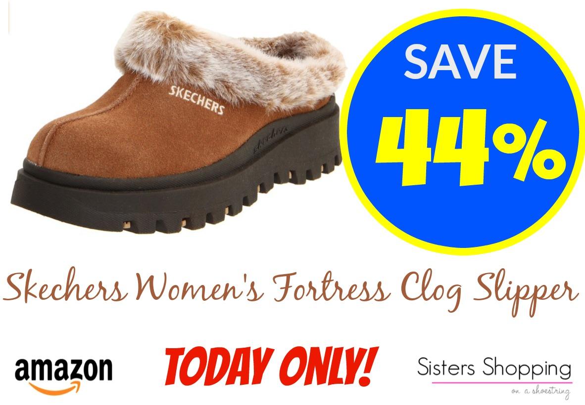 Skechers Women's Fortress Clog Slippers