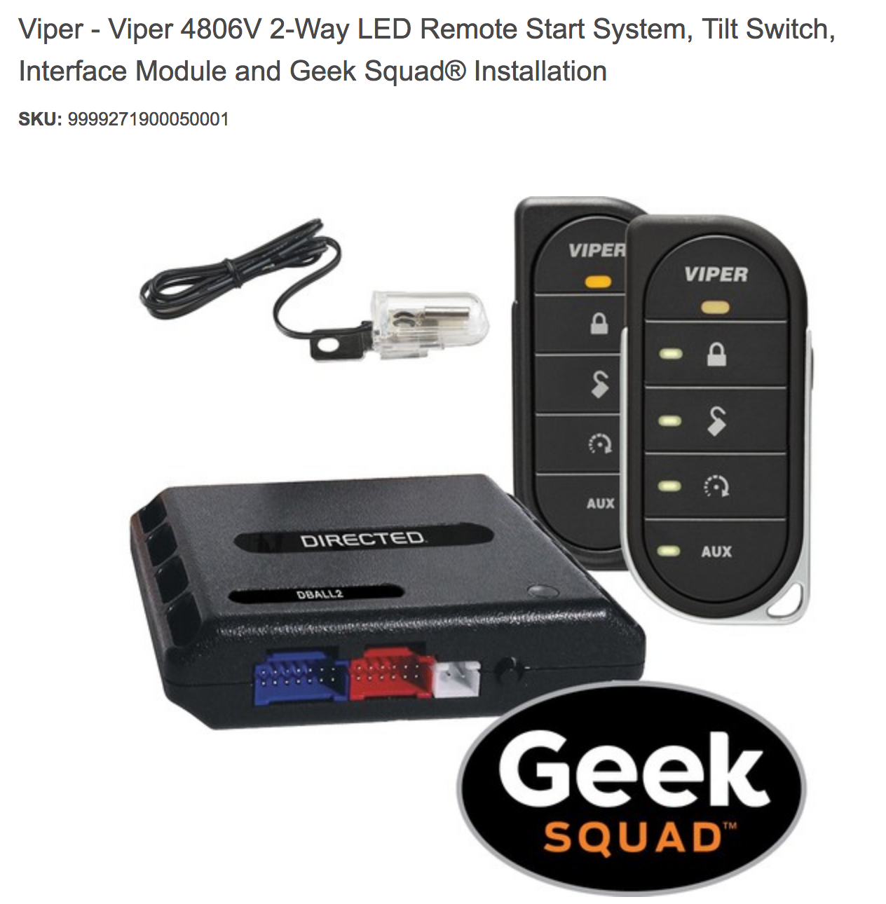Best buy deal of the day save over 375 on the viper 4806v 2 way best buy deal of the day save over 375 on the viper 4806v 2 way led remote start system includes installation and free shipping fandeluxe Images